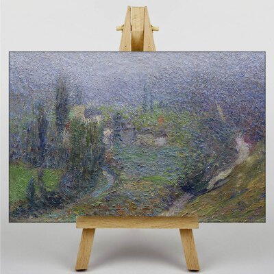 """Big Box Art """"Effect of the Morning"""" by Henri Martin Art Print Wrapped on Canvas"""