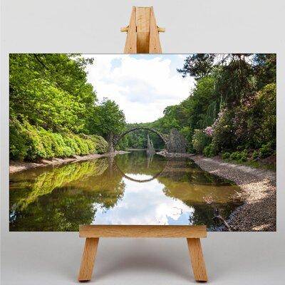 Big Box Art River Landscape No.5 Photographic Print on Canvas