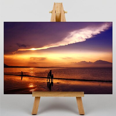 Big Box Art Sunset No.10 Photographic Print on Canvas