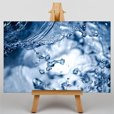 Big Box Art Splash of Water No.2 Graphic Art on Canvas