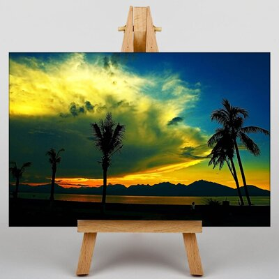 Big Box Art Beach Sunset No.5 Photographic Print on Canvas