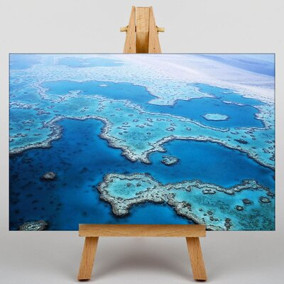 Big Box Art Coral Great Barrier Reef No.3 Graphic Art on Canvas
