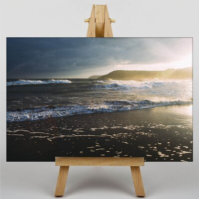 Big Box Art Seascape Photographic Print Wrapped on Canvas