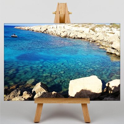 Big Box Art Fig Tree Bay Cyprus Photographic Print on Canvas