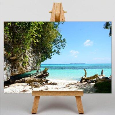 Big Box Art Palau Beach No.1 Photographic Print on Canvas