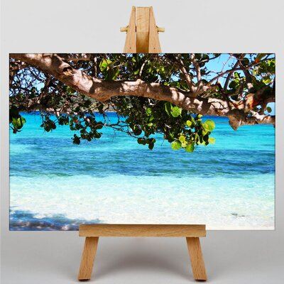 Big Box Art Barbados Beach No.2 Photographic Print on Canvas
