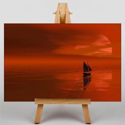 Big Box Art Sea 30x20 Photographic Print on Canvas