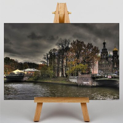 Big Box Art Russia Photographic Print Wrapped on Canvas