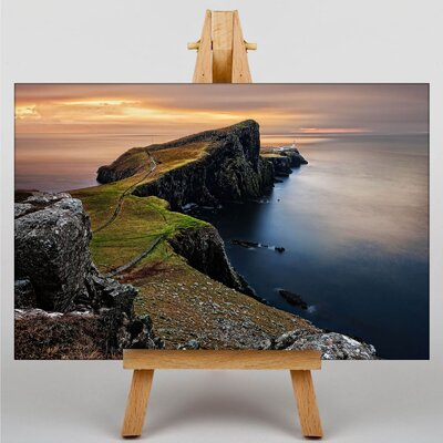 Big Box Art Isle of Skye Scotland Photographic Print Wrapped on Canvas