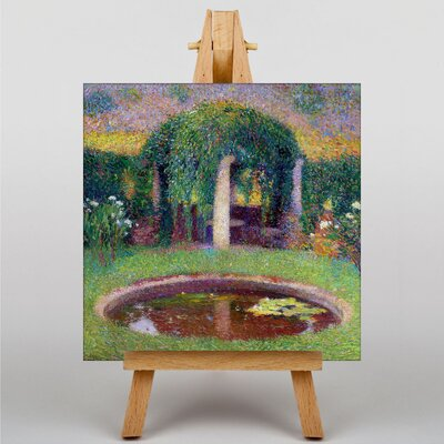 "Big Box Art ""Garden"" by Henri Martin Art Print on Canvas"