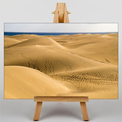 Big Box Art Desert Sand Dune No.1 Photographic Print Wrapped on Canvas