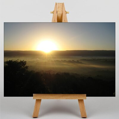 Big Box Art Kenya Landscape Africa No.2 Photographic Print Wrapped on Canvas