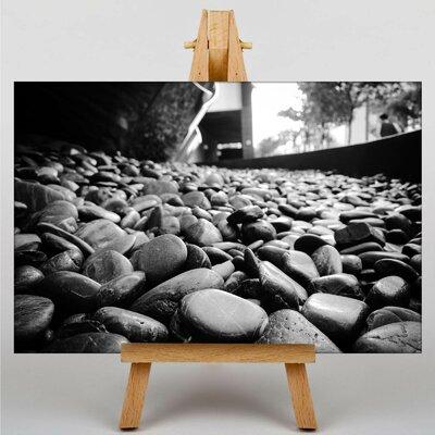 Big Box Art Pebbles Stones Rocks No.3 Photographic Print on Canvas