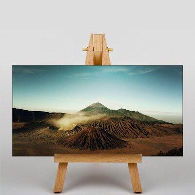 Big Box Art Volcano Iceland Photographic Print on Canvas
