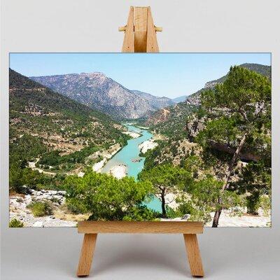 Big Box Art Turkey Landscape Photographic Print Wrapped on Canvas