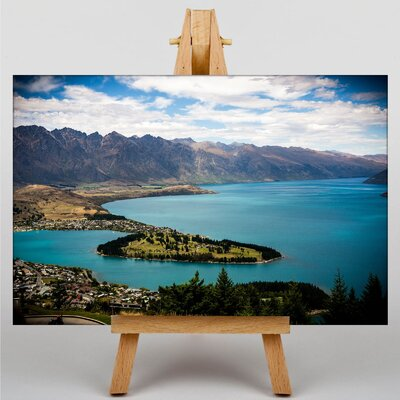 Big Box Art New Zealand Scenery No.8 Photographic Print on Canvas