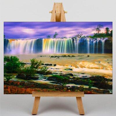 Big Box Art Waterfall No.6 Photographic Print on Canvas