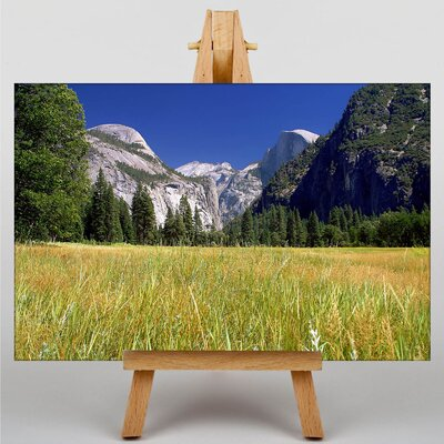 Big Box Art Yosemite Meadow Photographic Print on Canvas