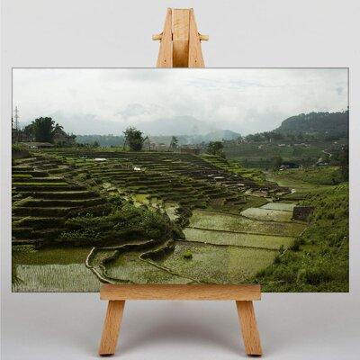 Big Box Art Rice Field Nepal Photographic Print on Canvas