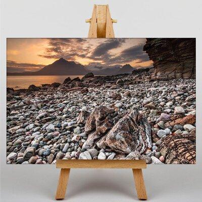 Big Box Art Scotland Landscape No.3 Photographic Print on Canvas