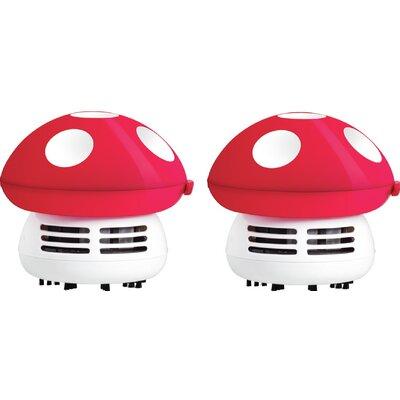 Mushroom Handheld Vacuum Color: Fuchsia