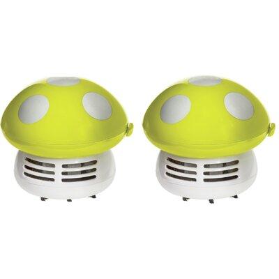Mushroom Handheld Vacuum Color: Green