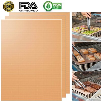Non-Stick Grill Mat Set Of: Set of 4