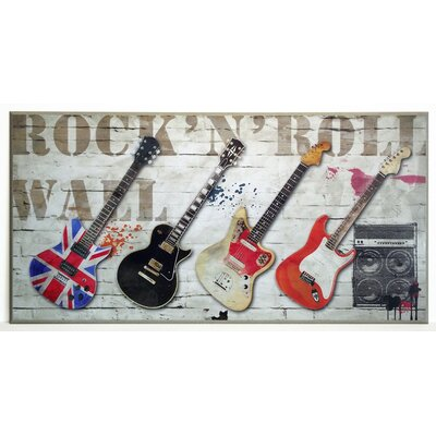 ERGO-PAUL Rock'n'Roll Wall Painting Print