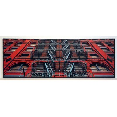 ERGO-PAUL The Puck Building Facade, Puck, Soho, NYC Painting Print
