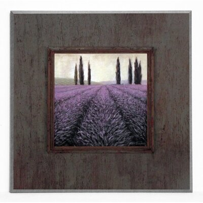 ERGO-PAUL Lavender Villa Painting Print