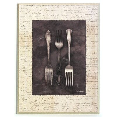 ERGO-PAUL Antique Forks Painting Print