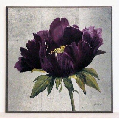 ERGO-PAUL Violet Peony Painting Print