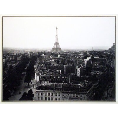 ERGO-PAUL Aerial View of Paris Painting Print