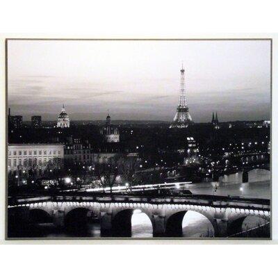 ERGO-PAUL Paris by Night Painting Print