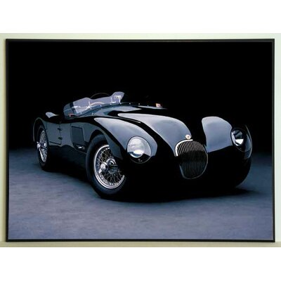 ERGO-PAUL 1951 Jaguar C-Type Painting Print