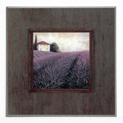 ERGO-PAUL Lavender Horizon Painting Print