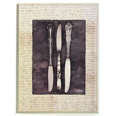 ERGO-PAUL Antique Knife Painting Print