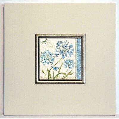 ERGO-PAUL Blue Melody IV Framed Painting Print