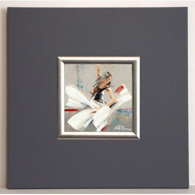 ERGO-PAUL Dance Fusion Move Framed Painting Print