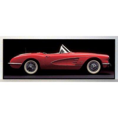 ERGO-PAUL Vintage Corvette Painting Print