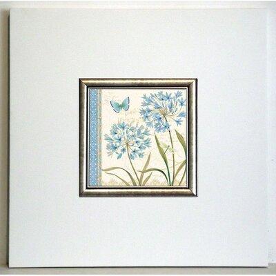 ERGO-PAUL Blue Melody III Framed Painting Print