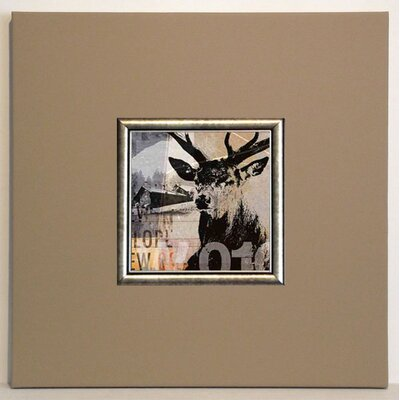 ERGO-PAUL Red Deer II Framed Painting Print