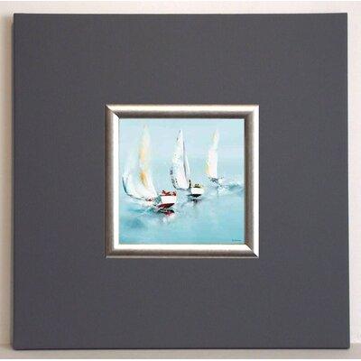 ERGO-PAUL Grand Largue Framed Painting Print