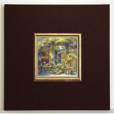 ERGO-PAUL Une Journée d'Été Framed Painting Print