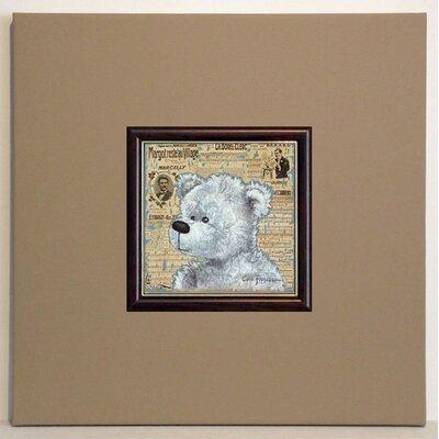 ERGO-PAUL Teddy Bear Framed Painting Print