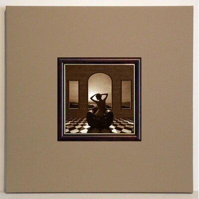ERGO-PAUL Sunset in Room Framed Painting Print
