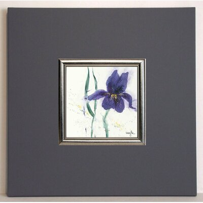 ERGO-PAUL Iris II Framed Painting Print