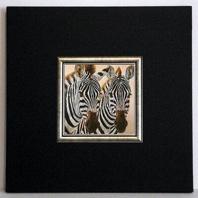 ERGO-PAUL Zèbres de Gol Framed Painting Print