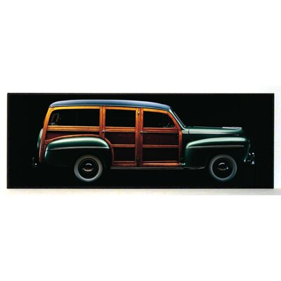 ERGO-PAUL 1947 Ford Woody Combi Painting Print