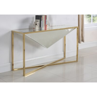 Trong Console Table Table Base Color: Gold